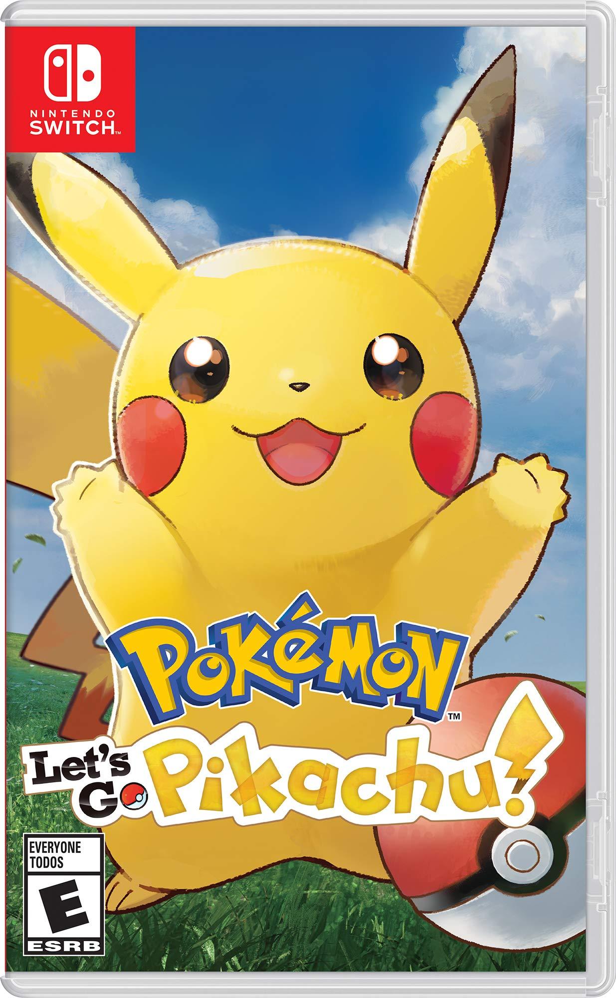 Pokemon: Let's Go - Nintendo Switch Pokemon