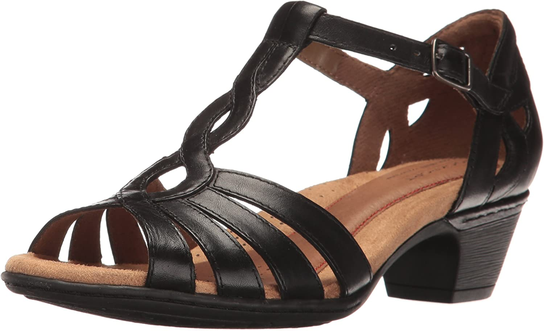 Cobb Hill Women's Abbott Curvy T Sandal