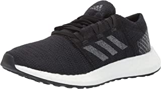 adidas Baby Pure Boost Go Running Shoe, Black/Grey/Carbon, 4 M US Little Kid