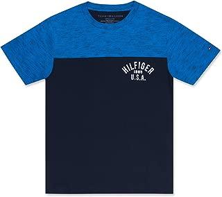 Tommy Hilfiger Boys' Colorblock Logo Tee Shirt