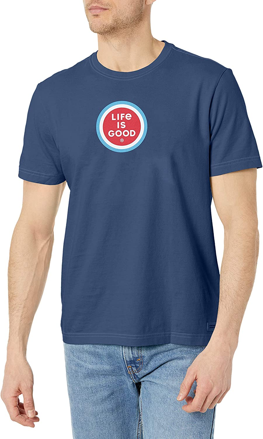 Life is Super-cheap Good Men's T-Shirt Crusher Graphic Max 50% OFF