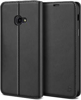 BEZ Coque Xcover 4, Xcover 4S, Etui Housse pour Samsung Xcover 4 4S en Cuir Premium Flip Case Portefeuille, à Rabat avec P...