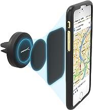 Sabrent Supporto Magnetico Universale per Presa d'Aria Auto Compatibile con Maggior Parte dei Smartphone (CM-MGHB)