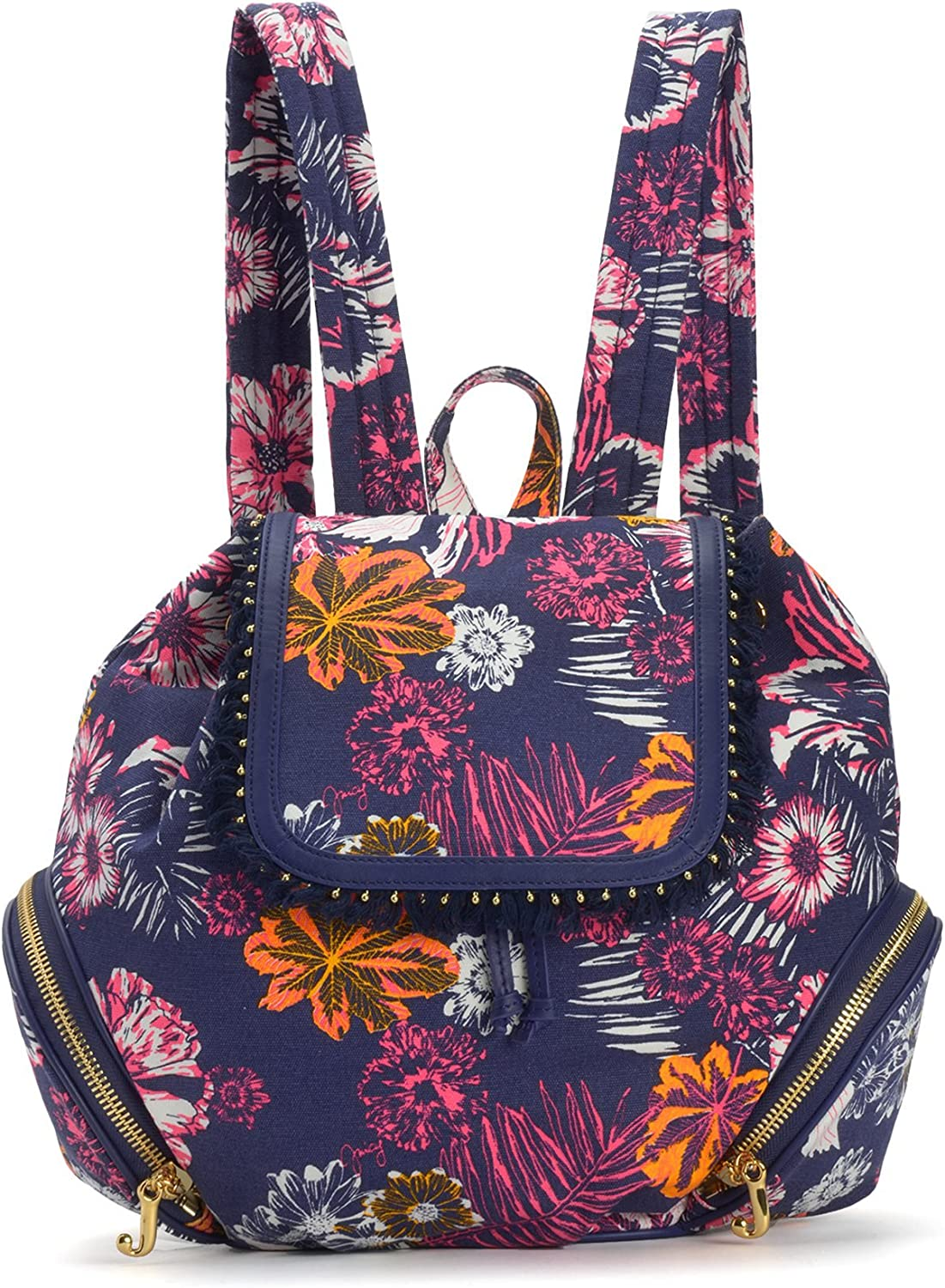 Juicy Couture Bold Botanic Canvas Backpack, Multi