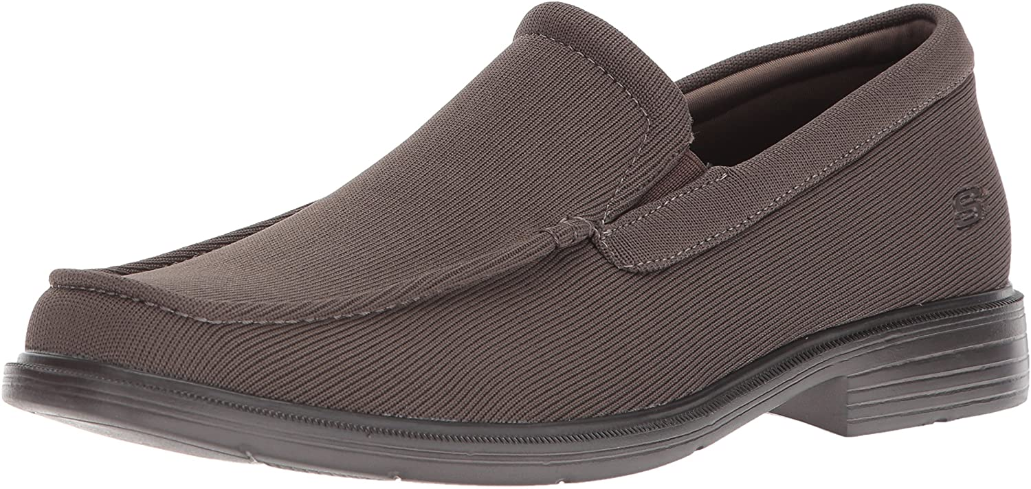 Skechers Mens Relaxed Fit-Caswell-Lander Loafer