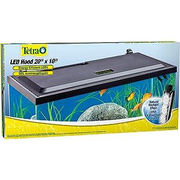 Tetra LED Aquarium Hood, Low Profile, Energy Efficient Hood with Lighting