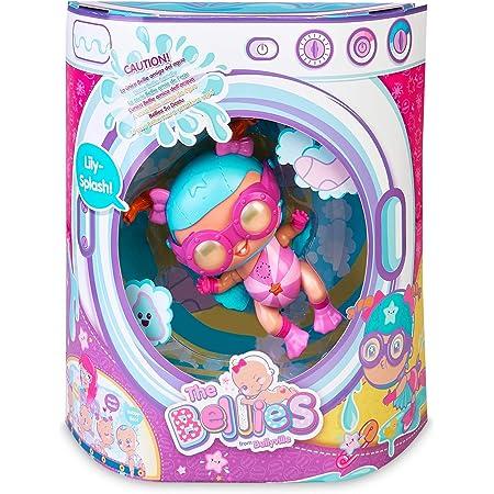The Bellies - Lily-Splash! Bellie acuatico,le gusta el agua, muñeca interactivo para niñas y niños a partir de 3 años(Famosa 700016275)