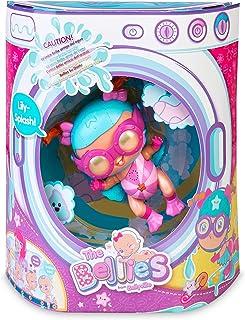 The Bellies - Lily-Splash! Bellie acuatico,le gusta el agua, muñeca interactivo para niñas y niños a partir de 3 años(Famo...