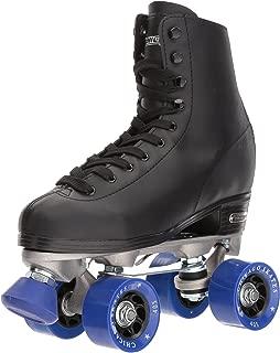 Chicago Men's Classic Roller Skates - Premium Black Quad Rink Skates