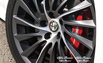 alfa romeo brake caliper decals