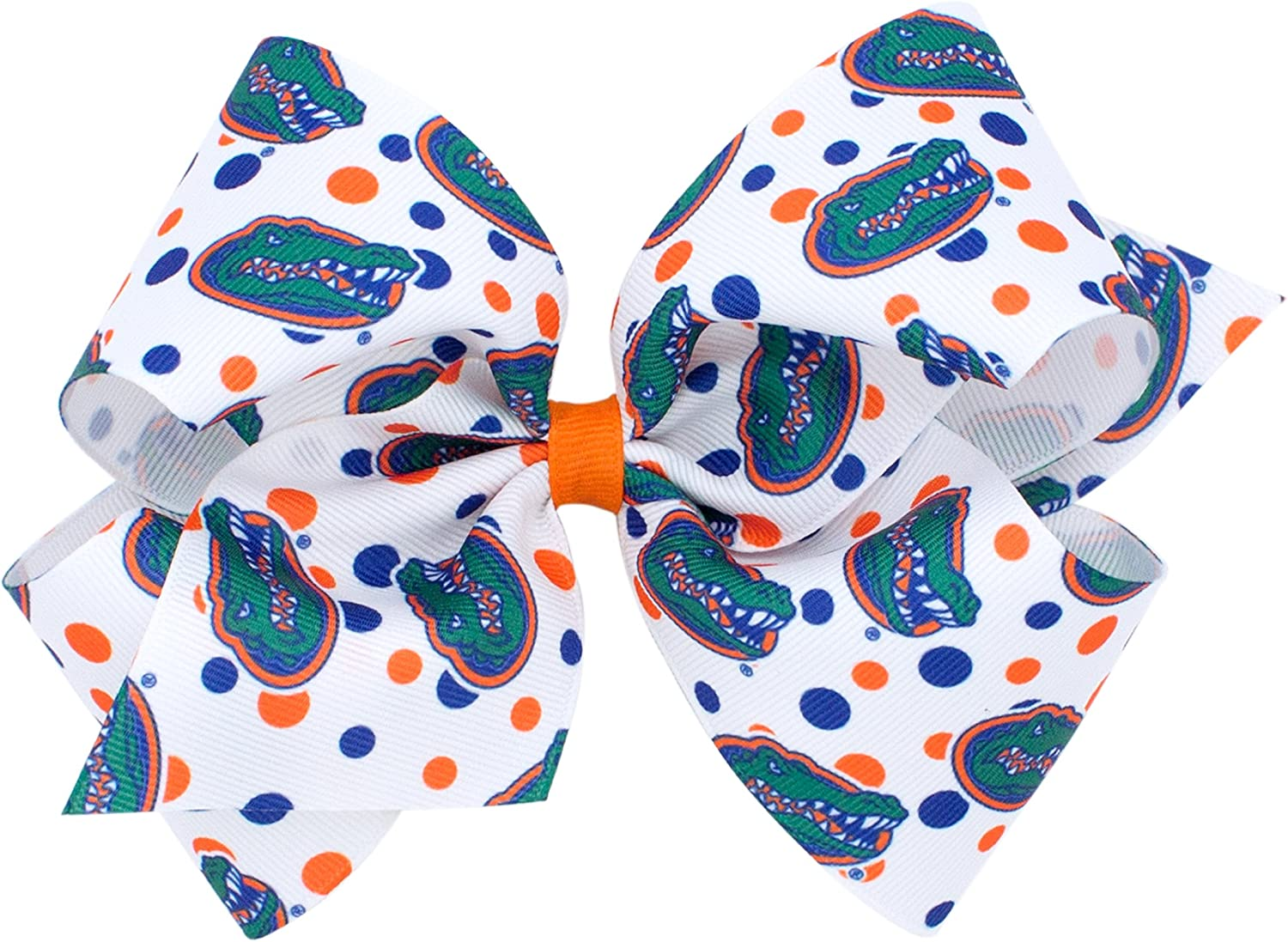 Wee Ones King Size NCAA Collegiate Print Bow
