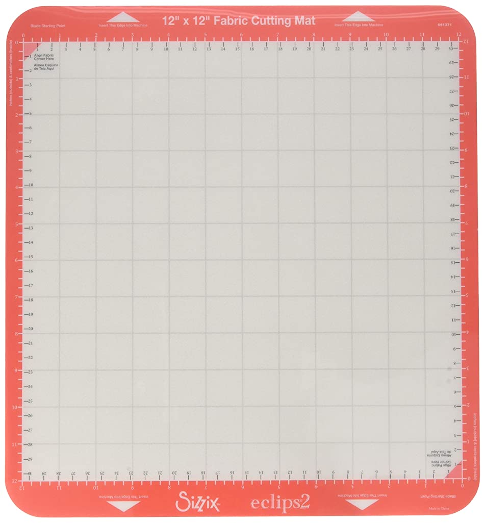 Sizzix 661371 Fabric Cutting Mat, White