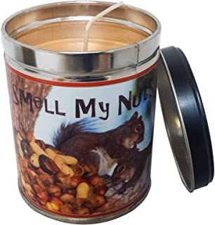 Best Our Own Candle Company Banana Nut Bread Scented Candle in 13 Ounce Tin with a Smell My Nuts Label Review