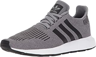 adidas Originals Men's Swift Run Shoes,grey three/core black/medium grey heather,10 M US