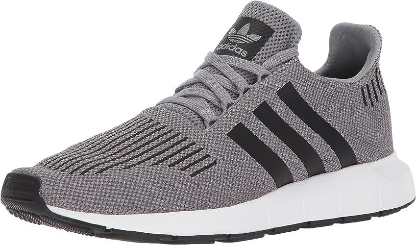 Adidas Men's Swift Run chaussures,gris three core noir medium gris heather,9.5 M US