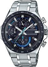 Casio Men's Edifice Quartz Watch with Stainless Steel Strap, Silver, 28.5 (Model:..