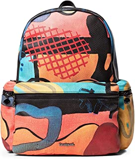 Luxury Fashion | Desigual Womens 19WAKP19MULTI Multicolor Backpack | Fall Winter 19