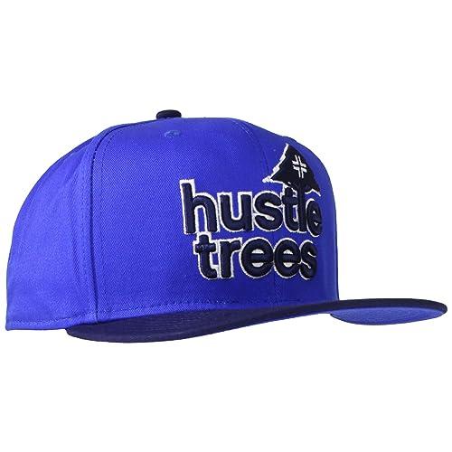 07f53c6d54b LRG Men s Hustle Trees Logo Flat Bill Snapback Hat