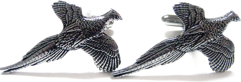 Pheasant Bird Cufflinks