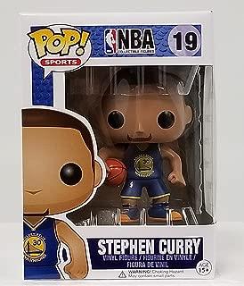 Funko Pop! NBA Stephen Curry #19 (Blue) Jersey w/ Chalice Case