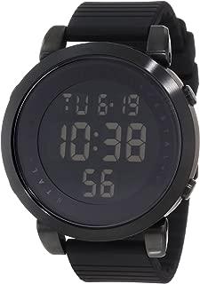 Men's DDDS01 Digital Doppler Black Stainless Steel Watch...