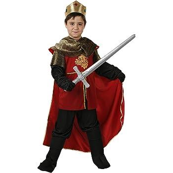 Atosa-94254 Atosa-94254-Disfraz Rey Medieval-Infantil 7 a 9 NIño ...