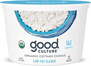 Good Culture Cottage Cheese Organic 2% Low-Fat Classic, 16 Ounce