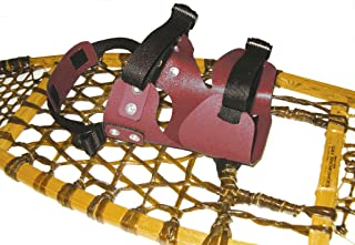 Double Use Style Snowshoe Bindings (Colors May Vary)