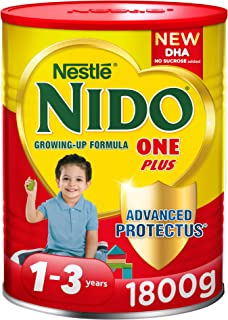 Nestlé NIDO One Plus Growing Up Milk Powder Tin For Toddlers 1-3 Years, 1800g (Pack Of 1)