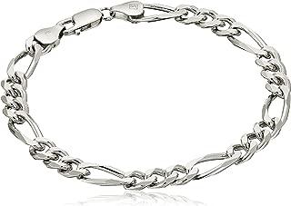 Best silver link bracelet mens Reviews