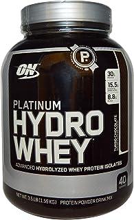Optimum NutritionPlatinum Hydro Whey Turbo Chocolate Flavor Powder, 3.5 Lbs