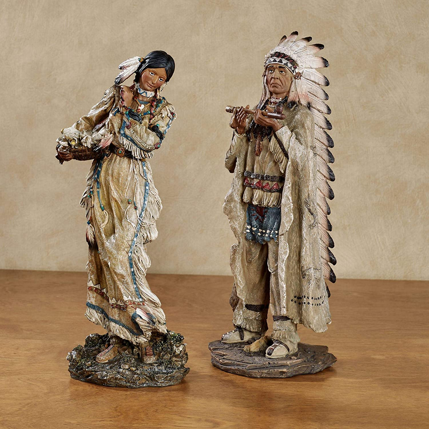 Majestic Tradition Native American Figurines Earth Tones Year-end annual account S Ranking TOP19 Multi
