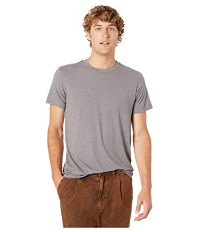 RVCA Solo Label T-Shirt (Smoke) Men