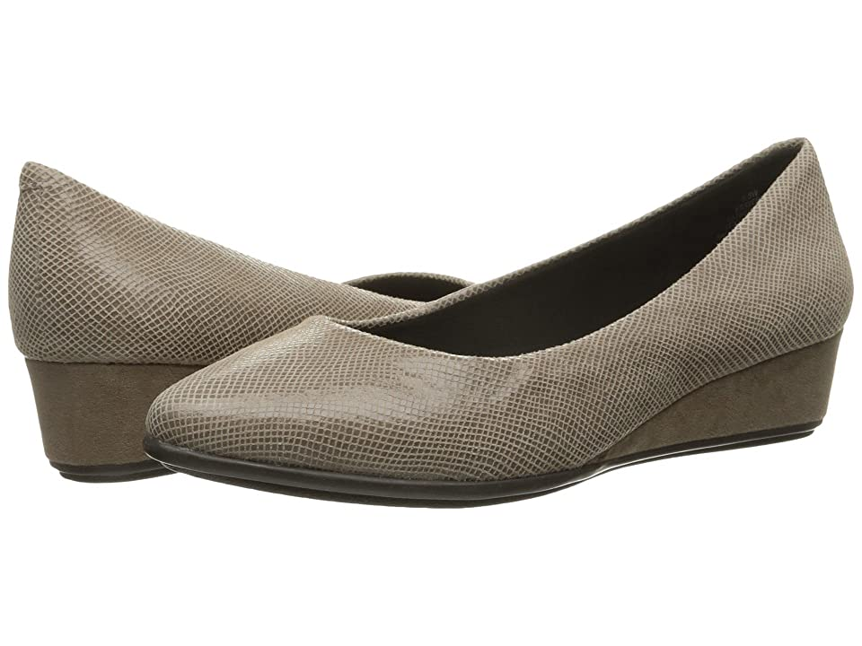 Easy Spirit Avery (Taupe Reptile) Women