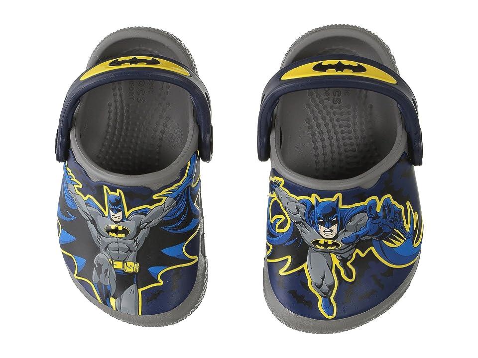 Crocs Kids CrocsFunLab Batman (Toddler/Little Kid) (Smoke) Boy