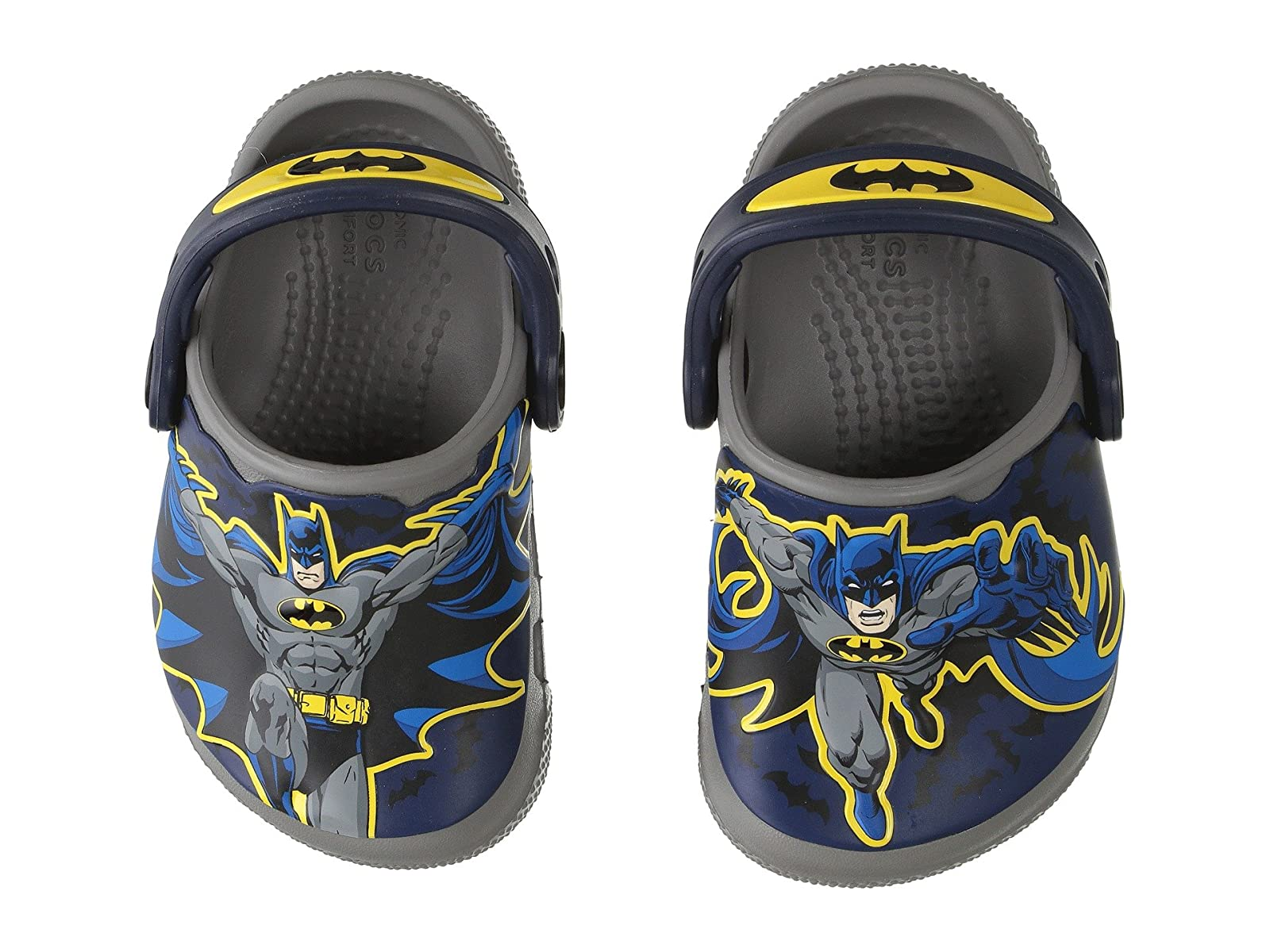 Crocs Kids CrocsFunLab CrocsFunLab Kids Batman (Toddler/Little Kid) b4c0a2