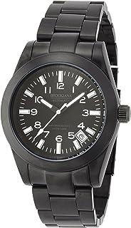 ブルッキアーナ 腕時計 日本製自動巻 手巻付 カプセル夜光 Amazon.co.jp限定 BAA1802-BKBK メンズ