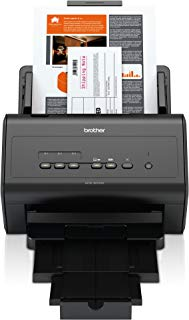 Scanner Brother ADS3000N A4 Duplex Rede 50ppm, Brother, 3000N, Preto