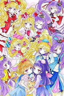 TianSW Maho Girls PreCure! (14inch x 21inch/35cm x 52cm) Waterproof Poster No Fading