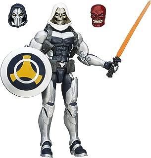 Marvel 6 Inch Legends Mercenaries of Mayhem Taskmaster Action Figure (Build Red Skull)