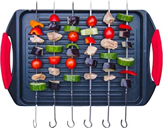 Jean-Patrique Griddle Me This - Cast Aluminium Griddle Plate with Stainless Steel Skewers