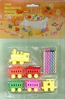Choo Choo Train Cake Toppers - Cake Decorations