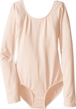 Microlux Long Sleeve Leotard (Toddler/Little Kids/Big Kids)