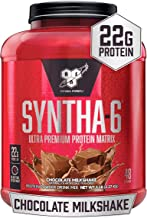 BSN SYNTHA-6 Whey Protein Powder, Micellar Casein, Milk Protein Isolate, Chocolate Milkshake, 48 Servings (Packaging May V...