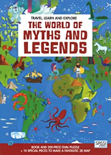 SASSI JUNIOR Travel, Learn And Explore. The World Of Myths And Legends;Travel Learn & Explore;Travel Learn & Explore