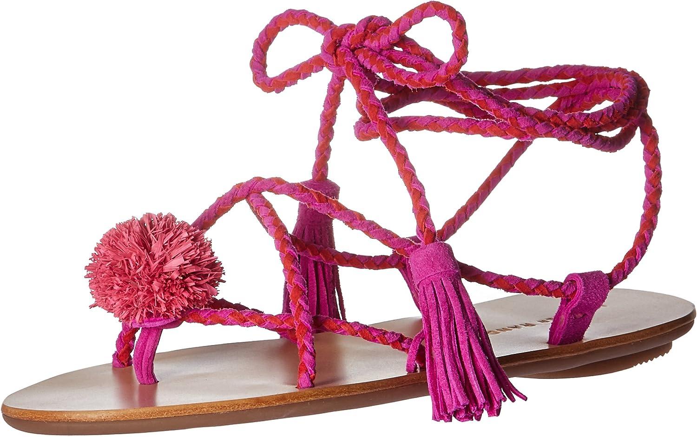 Loeffler Randall Womens Bo Flat Sandal