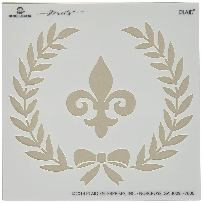 FolkArt Home Decor Stencil, 34951 Parisian Crest