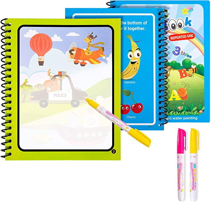 35 opinioni per Diealles Shine 3 Magic Water Book, Acqua Libro da colorare Magico con Magic Pen