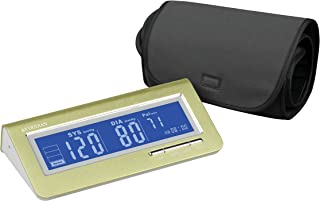 Veridian Healthcare Metallic Style Arm Blood Pressure Monitor, Green, 14 Ounce