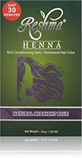 Reshma Beauty Natural Midnight Blue 30 Minute Henna Hair Color